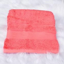 Serviette de bain Candice rose 50 x 90 cm 100% coton