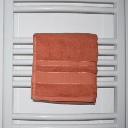 Serviette de bain Daria orange 50 x 90 cm 100% coton