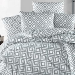 Linge de lit à formes géométriques