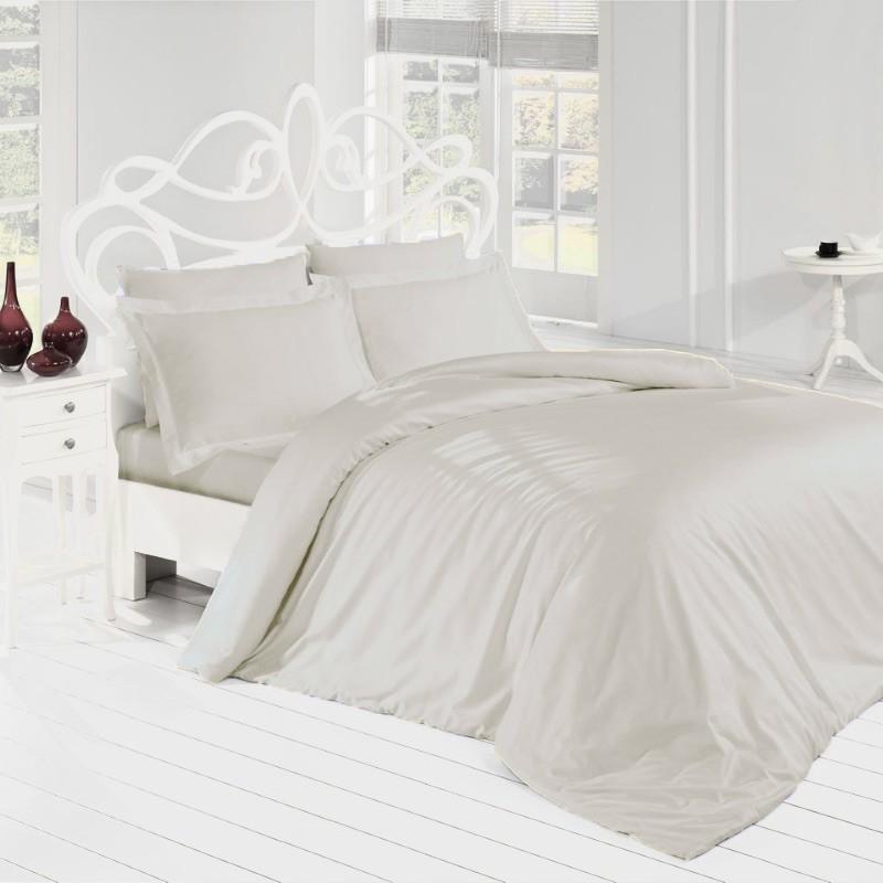 Parure de lit coton uni