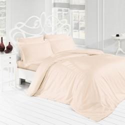 Parure de lit sable unie